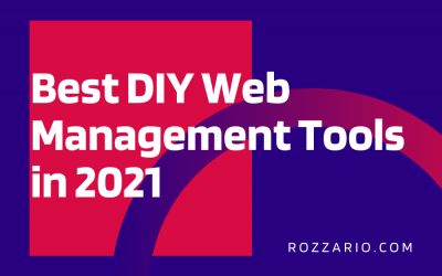 Best DIY Web Management Tools in 2021